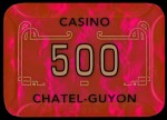 Plaque CHATEL GUYON 500