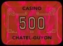 Plaque CHATEL GUYON 500