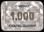 Plaque CHATEL GUYON 1000