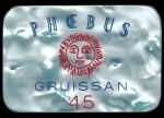 Plaque GRUISSAN 500