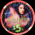 LUXOR CRISS ANGEL 5 $