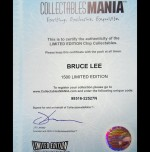 BRUCE-LEE-COLLECTOR-CERTIFICATE