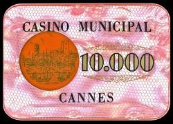 PLAQUE 10 000 CANNES CROISETTE