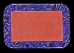Plaque 5000 LA BAULE