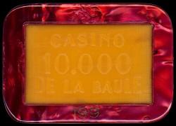 Plaque 10 000 LA BAULE