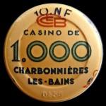 CHARBONNIERES LES BAINS 1 000