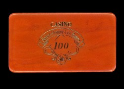 ST HONORE LES BAINS Plaque 100