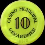 GERARDMER 10