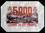 AX LES THERMES 5 000