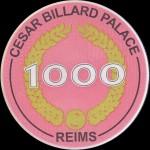 CESAR BILLARD PALACE 1 000