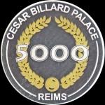 CESAR BILLARD PALACE 5 000
