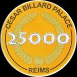 CESAR BILLARD PALACE 25 000