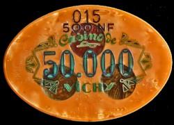 Grand Casino VICHY 50 000