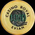 EVIAN LES BAINS 1 000