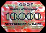 NIEDERBRONN 10 000