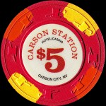 CARSON STATION 5 $