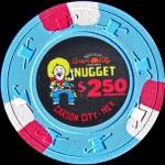 CARSON NUGGET 2.50 $