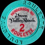 GREEN VALLEY RANCH 2 ROULETTE