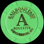 RAILROAD PASS A ROULETTE