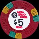 MGM GRAND 5 $