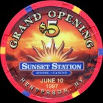 SUNSET STATION 5 $