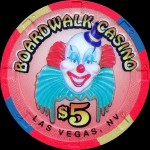 BOARDWALK  5 $