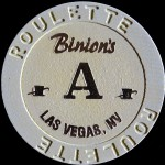 BINIONS HORSESHOE A ROULETTE