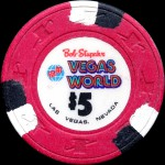 BOB STUPAK'S VEGAS WORLD 5 $