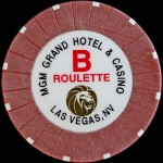 MGM GRAND B ROULETTE