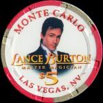MONTE CARLO 5 $ LANCE BURTON