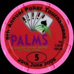 PALMS BLACKJACK TOURNAMENT 5