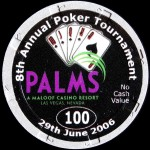 PALMS BLACKJACK TOURNAMENT 100