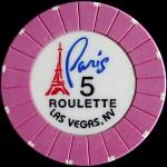 PARIS 5 ROULETTE