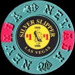 SILVER SLIPPER 1 $