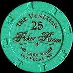 THE VENETIAN 25 POKER ROOM
