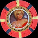 RAT PACK LOUNGE 5 $ MARYLIN MONROE