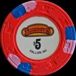 STOCKMAN'S 5 $