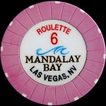 MANDALAY BAY 6 ROULETTE