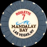 MANDALAY BAY 5 ROULETTE