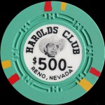 HAROLDS CLUB 500 £