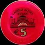 EVIAN LES BAINS 5 €