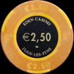 JUAN LES PINS 2,50 €