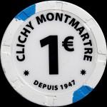 CLICHY MONTMARTRE 1.00