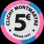 CLICHY MONTMARTRE 5.00 €
