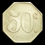 ROYAT 50 Jeton laiton