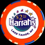 HARRAHS TAHOE 2 50 $ new