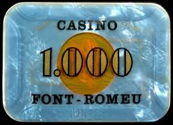 FONT ROMEU 1 000