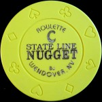NUGGET STATE LINE C Roulette