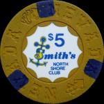 SMITH'S NORTH SHORE CLUB LAKE TAHOE 5 $