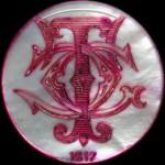 PAQUEBOT France 1912 - 20 Fr